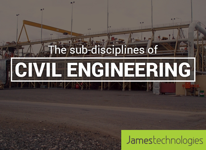 The Sub-Disciplines of Civil Engineering